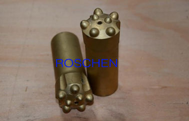 T45 Thread 76mm Ballistic Button Bits Rock Drilling Tools For Rock