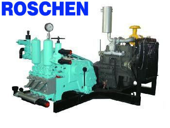 Smooth Rotation Mud Pumps For Drilling Rigs , Longer Service Life